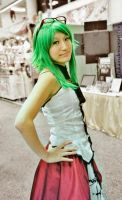 Gumi at Comic Con by Morigalaxy