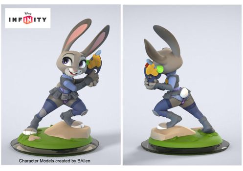 Judy Figurine Front Back Mod by PhirstDrapht15