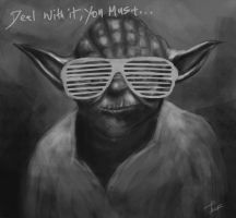 Yoda - Deal with it by z0h3