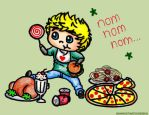 Niall Horan (Cartoon) by 1Dluverrr2708