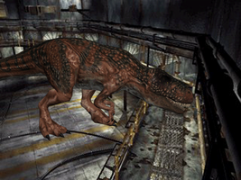 DINO CRISIS 2 Giganotosaurus  Fire Damage by Math4Dead