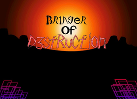 Bringer Of Destruction Wallpaper Poster by TheHylianMetalhead
