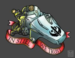 In steel we trust by Pa-Go