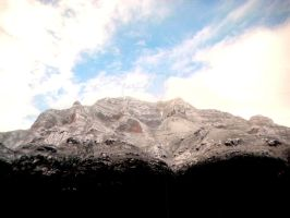 Mountains in Winter. by SaralovesMichael