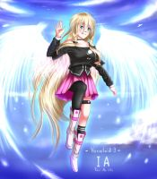 Vocaloid 3 - IA by Juh-Juh