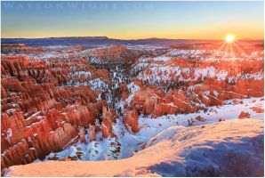 Bryce Canyon Beginnings by tourofnature