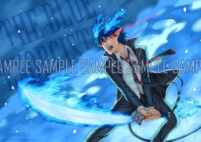 Ao no Exorcist - Unleashed by piku-chan