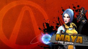 Borderlands 2 Wallpaper - Maya by mentalmars