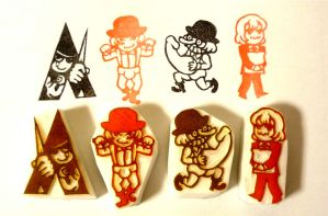 The Clockwork Orange Stamps by mukuuji