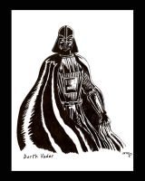 Darth Vader by The-Black-Panther