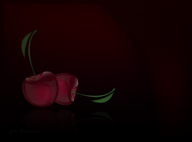 cherry wallpaper by Lyotta