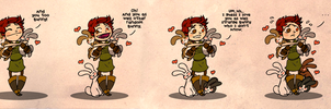 Comic 2012 - animal attraction by Sleyf