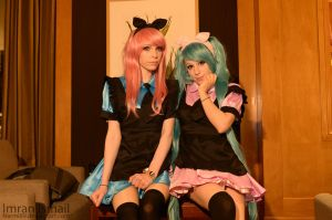 Vocaloid - Luka / Miku by DISC-Photography