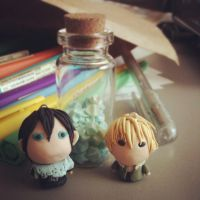 Yato and Yukine by thehairypeach