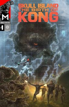 Skull Island: The Birth of Kong #1 Cover Art by mohammadyazid