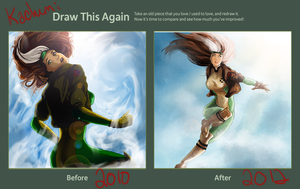 Draw this again - Rogue by Kachumi