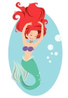 Disney Princess - Ariel by spuds-n-stuff