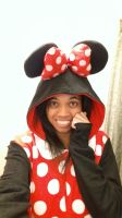 Me in a Minnie Mouse Kigurumi 3 by 8TeamFriends8