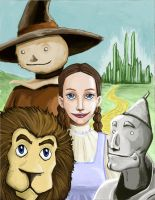 Wizard of Oz by Zippedbinders