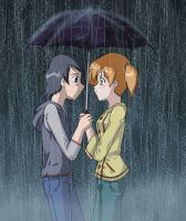 .:Under the Rain:. by MirakuruNaito