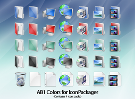 AB1 Colors for IconPackager by anthonium