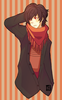 Autumn Boy by BottleWonderland