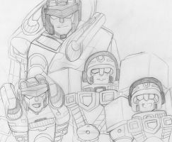 family portrait Tf Armada by Dragonjg