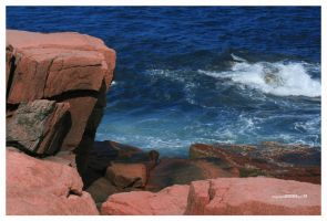 Rocky Coast by padawan71