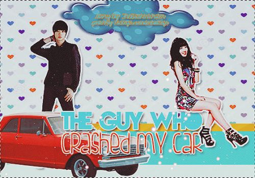 The Guy Who Crashed My Car poster by Nikuro13Hitachiin