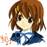 Sketch and Colored - Yui by Na-Nami