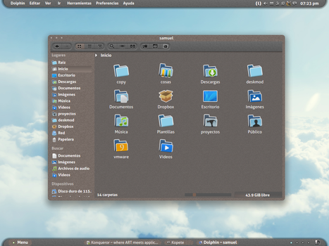 KDE Cork 1.1 (UPDATE) by samuaz