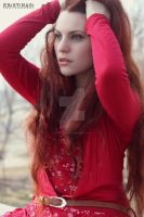 Fashion in Red by DanielleFioreModel