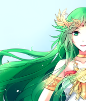 Palutena for Essradi by camikawaii
