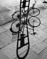 Bicycle and Shadow by Villedemort