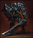 Elite Undead Warrior by KhezuG