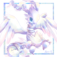 Reshiram by Effier-sxy