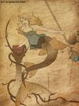 The Lady of the sea by Amaethil