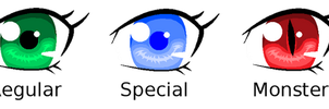Eye Study - A New Way To Color Eyes by Midnyte-Wolff