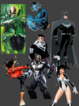 Justice League Dream Team (need artist help) by beauryan101