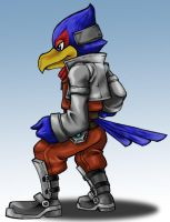 Falco ready to brawl by AIBryce