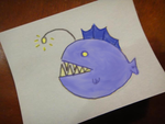Angler Fish that is not an Angler Fish by Chibi-X-Hitsu