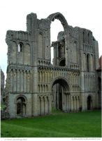 Priory Arches by In-the-picture