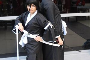 Rukia Shinigami Cosplay by Elessara91