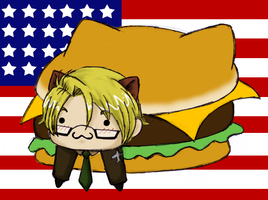 APH - Nyanko-Merica by telepaths