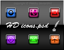 HD_Shine_Icons.psd by Webby-B