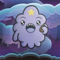 Lumpy Space - Kawaii Adventure Time by SquidPig