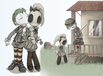Barrel and Obi's country life by Sony-Shock