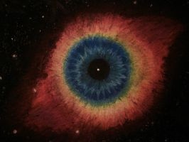 Helix Nebula aka God's Eye by Loogy509