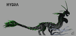 Evolve Monster Concept: Hydra by DeinonychusEmpire