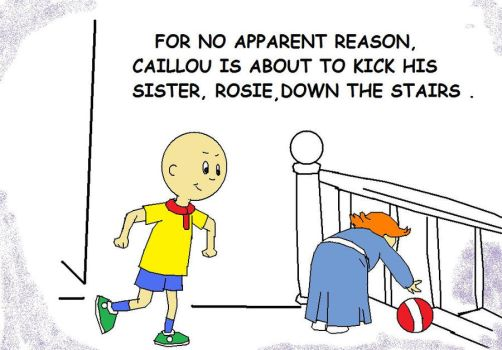 Caillou is Bad by AVRICCI